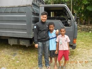 belajar sampai ke Jayapura (Papua)